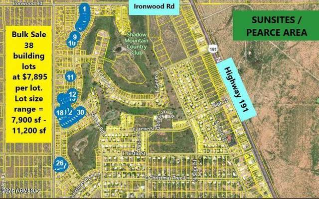 38 Lots in Sunsites Village, Pearce, AZ 85625 (MLS #6212141) :: The Carin Nguyen Team