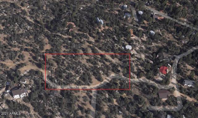 TBD Buttermilk Lane, Prescott, AZ 86305 (MLS #6212331) :: Long Realty West Valley