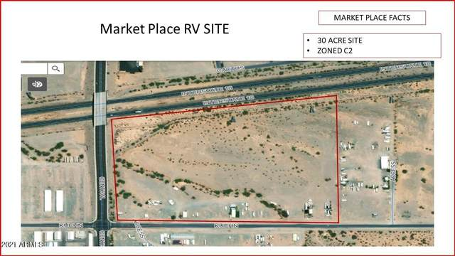 50 E Kuehn Street, Quartzsite, AZ 85346 (MLS #6214260) :: Yost Realty Group at RE/MAX Casa Grande