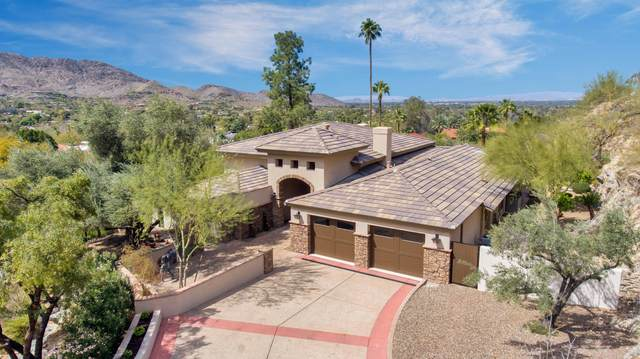5302 E Paradise Canyon Road, Paradise Valley, AZ 85253 (MLS #6214454) :: Yost Realty Group at RE/MAX Casa Grande