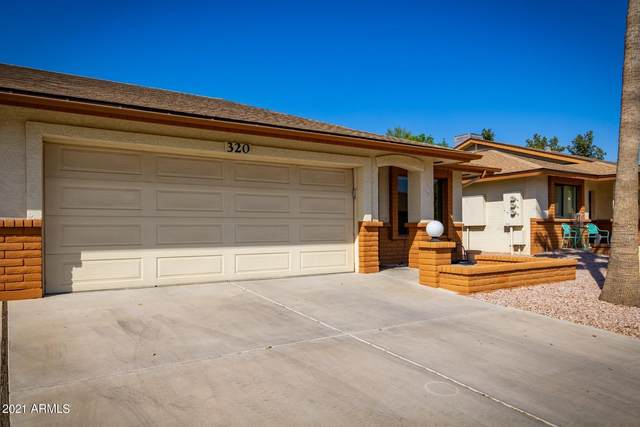 8020 E Keats Avenue #320, Mesa, AZ 85209 (MLS #6214908) :: Long Realty West Valley