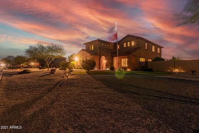 2592 W Phillips Road, Queen Creek, AZ 85142 (MLS #6215341) :: Executive Realty Advisors