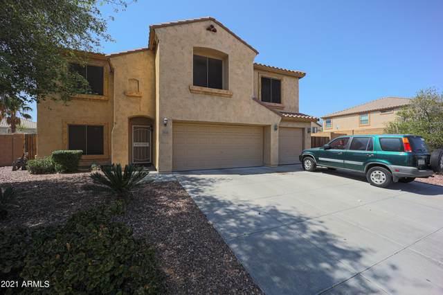 1814 S 225TH Avenue, Buckeye, AZ 85326 (MLS #6215976) :: Devor Real Estate Associates