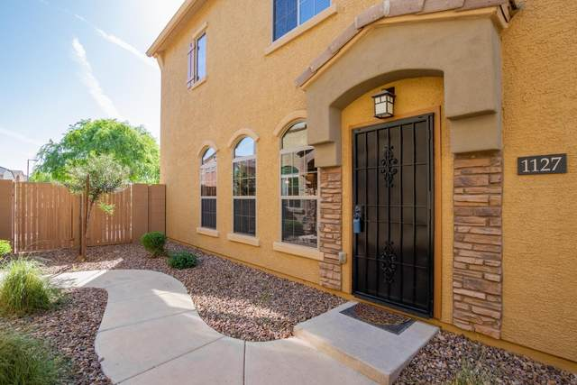 1350 S Greenfield Road #1127, Mesa, AZ 85206 (MLS #6216196) :: Yost Realty Group at RE/MAX Casa Grande