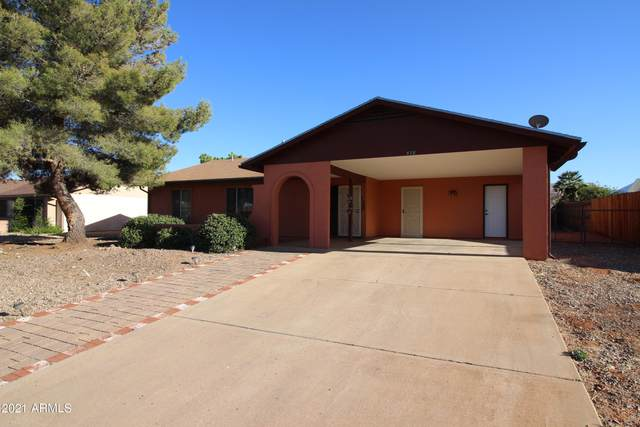578 Hegge Drive, Sierra Vista, AZ 85635 (MLS #6218300) :: Executive Realty Advisors