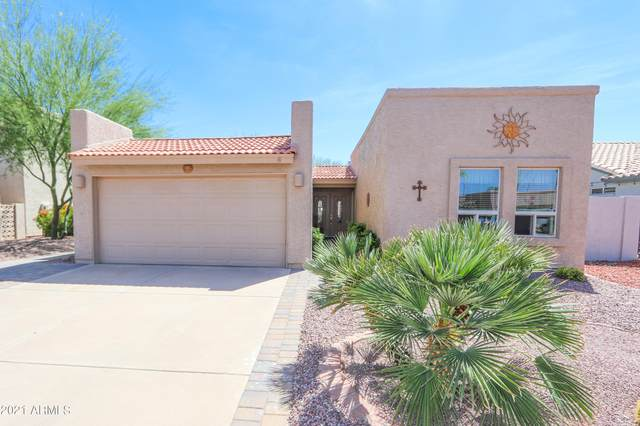 9613 E Navajo Place, Sun Lakes, AZ 85248 (MLS #6218657) :: Long Realty West Valley