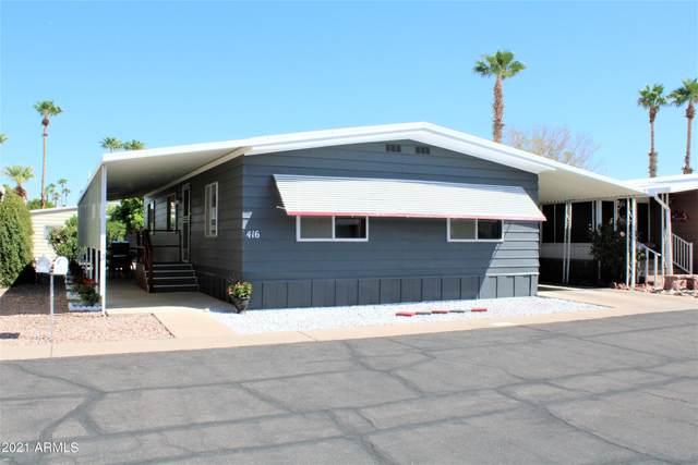 4065 E University Drive #416, Mesa, AZ 85205 (MLS #6218731) :: The Property Partners at eXp Realty
