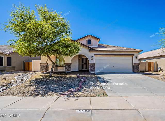 22314 N Braden Road, Maricopa, AZ 85138 (MLS #6219445) :: The Daniel Montez Real Estate Group