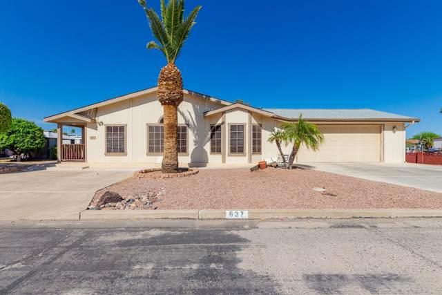 637 S Park View Circle, Mesa, AZ 85208 (MLS #6219943) :: Executive Realty Advisors