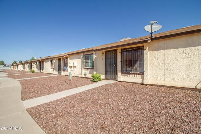 1616 N 63RD Avenue #48, Phoenix, AZ 85035 (MLS #6219973) :: Yost Realty Group at RE/MAX Casa Grande