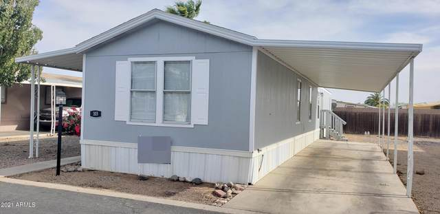 19602 N 32ND Street #103, Phoenix, AZ 85050 (MLS #6220435) :: Arizona Home Group