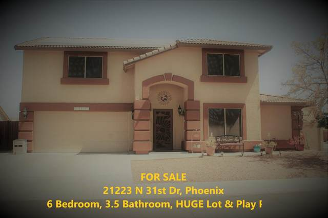 21223 N 31ST Drive, Phoenix, AZ 85027 (MLS #6220751) :: Jonny West Real Estate