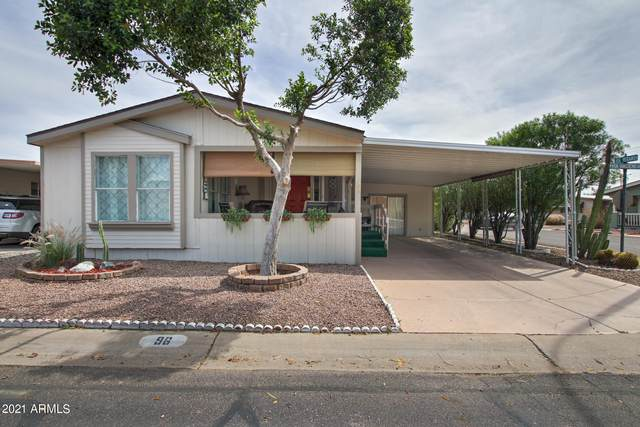 201 S Greenfield Road #96, Mesa, AZ 85206 (MLS #6222230) :: Service First Realty