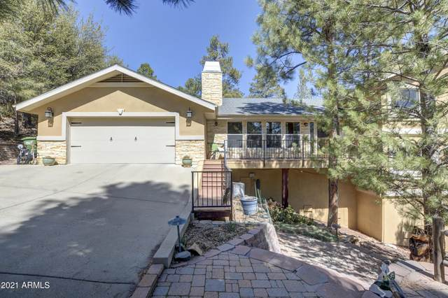 1541 Spruce Canyon Drive, Prescott, AZ 86303 (MLS #6222970) :: The Riddle Group