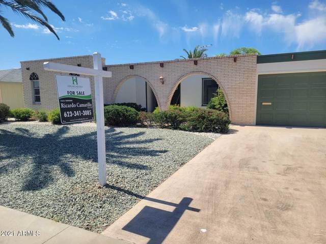 10313 W Brookside Drive, Sun City, AZ 85351 (MLS #6223518) :: Midland Real Estate Alliance