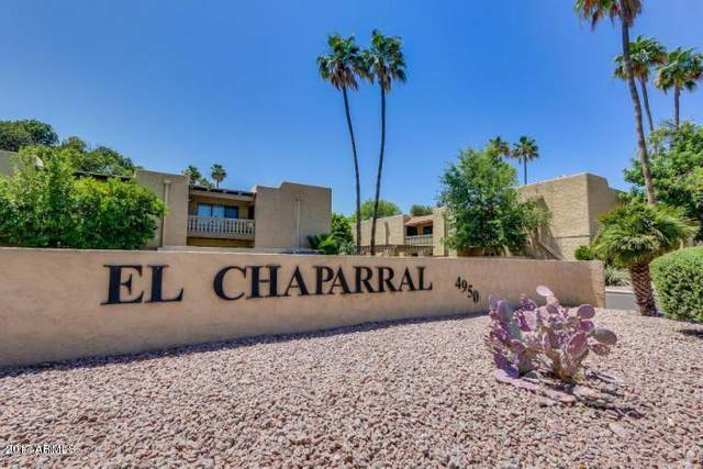 4950 N Miller Road #205, Scottsdale, AZ 85251 (MLS #6224059) :: The Property Partners at eXp Realty