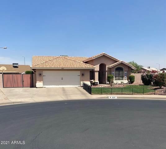 937 S 53RD Circle, Mesa, AZ 85206 (MLS #6225057) :: The Carin Nguyen Team