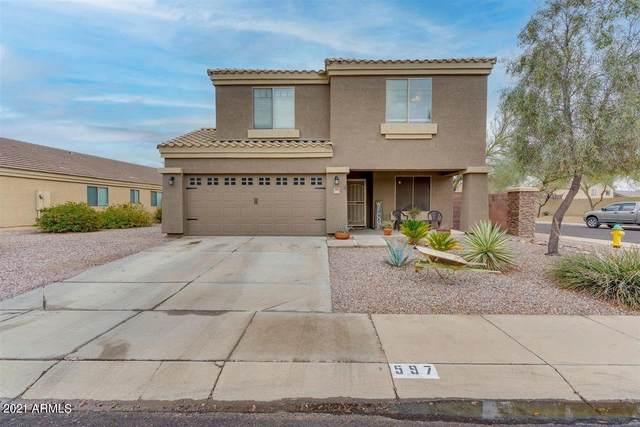 597 W Enchanted Desert Drive, Casa Grande, AZ 85122 (MLS #6225247) :: Yost Realty Group at RE/MAX Casa Grande