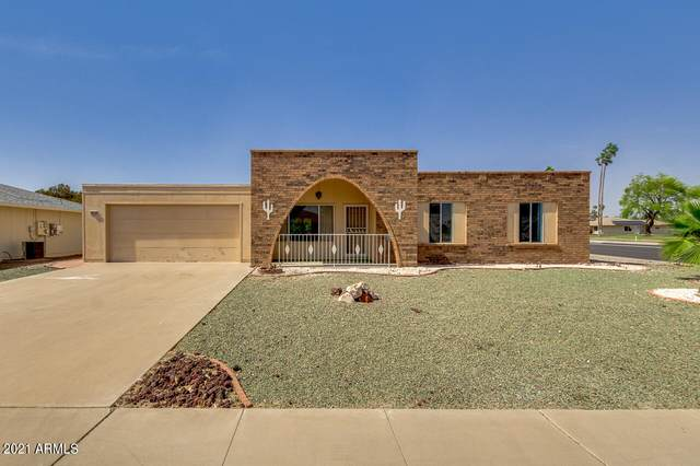 10702 W Hutton Drive, Sun City, AZ 85351 (MLS #6225301) :: The Property Partners at eXp Realty