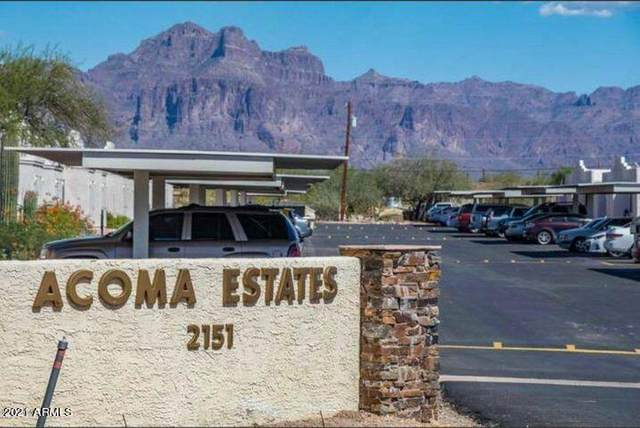 2151 N Meridian Road #39, Apache Junction, AZ 85120 (MLS #6225395) :: The Carin Nguyen Team