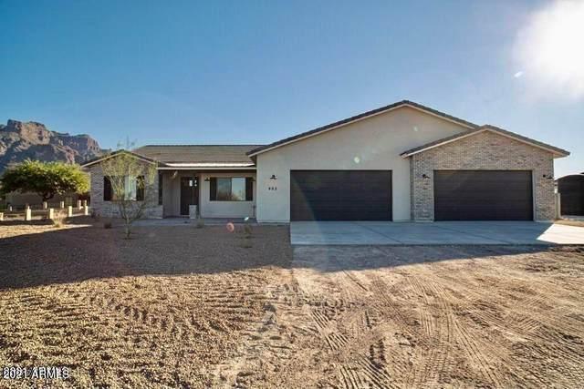 0 E Rolling Ridge Lot 5C, San Tan Valley, AZ 85140 (#6226619) :: The Josh Berkley Team