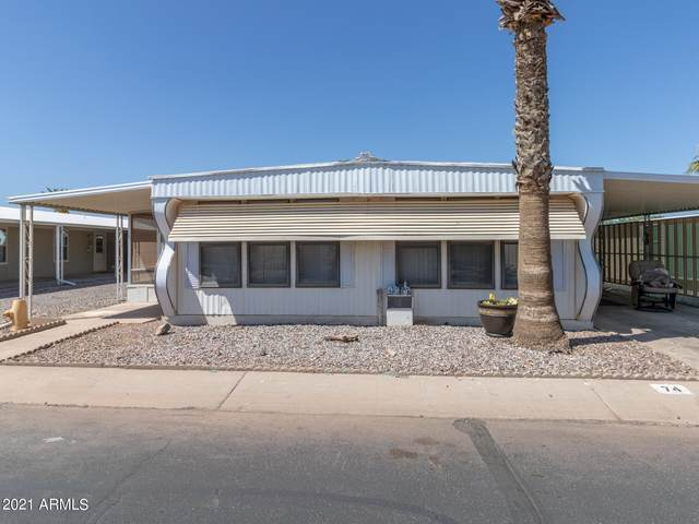 2100 N Trekell Road #74, Casa Grande, AZ 85122 (#6227015) :: Luxury Group - Realty Executives Arizona Properties