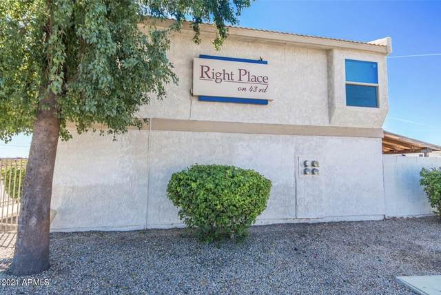 3840 N 43RD Avenue #65, Phoenix, AZ 85031 (MLS #6228304) :: Yost Realty Group at RE/MAX Casa Grande