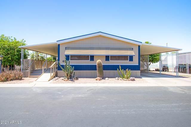 450 W Sunwest Drive #6, Casa Grande, AZ 85122 (#6229412) :: Luxury Group - Realty Executives Arizona Properties