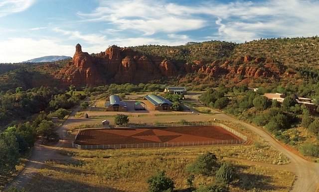 1000 El Rojo Grande Ranch Lot A, Sedona, AZ 86336 (MLS #6229708) :: The Copa Team | The Maricopa Real Estate Company