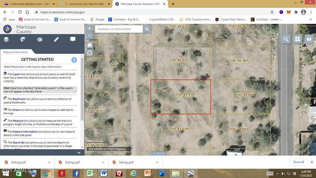 0 N Un-Named Street, Wittmann, AZ 85361 (#6230092) :: The Josh Berkley Team