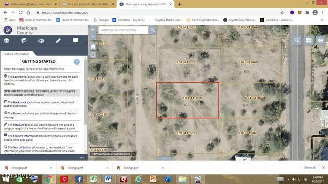 0 N Un-Named Street, Wittmann, AZ 85361 (MLS #6230092) :: Yost Realty Group at RE/MAX Casa Grande