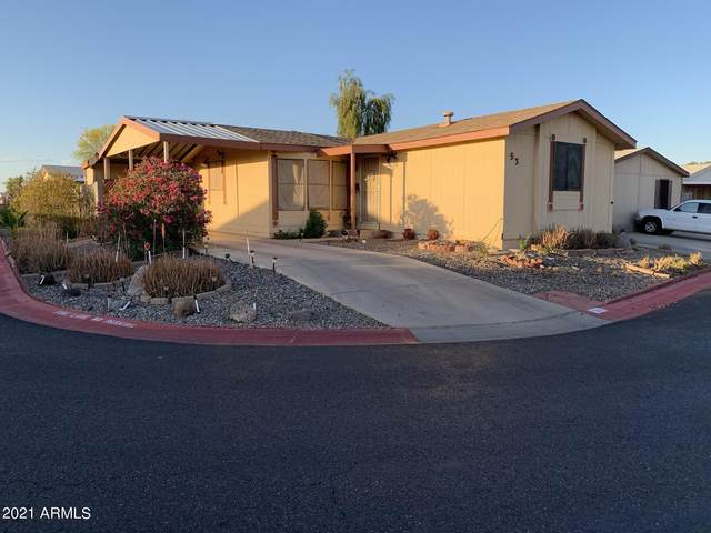 8601 N 103RD Avenue #53, Peoria, AZ 85345 (MLS #6230683) :: Yost Realty Group at RE/MAX Casa Grande