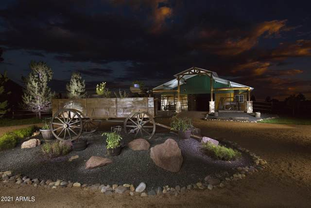 2295 Bison Ranch Trail, Overgaard, AZ 85933 (MLS #6231207) :: Yost Realty Group at RE/MAX Casa Grande