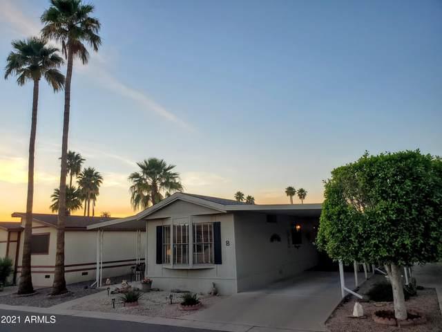 9302 E Broadway Road #8, Mesa, AZ 85208 (#6231463) :: Luxury Group - Realty Executives Arizona Properties