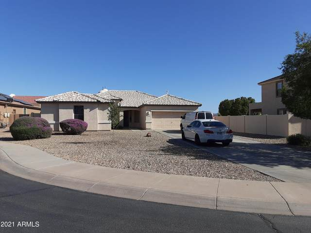 13965 W Woodbridge Avenue, Goodyear, AZ 85395 (MLS #6232084) :: Executive Realty Advisors