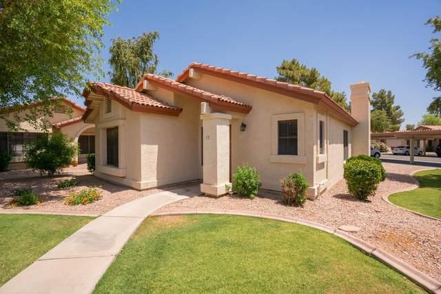 1120 N Val Vista Drive #72, Gilbert, AZ 85234 (MLS #6232518) :: The Laughton Team