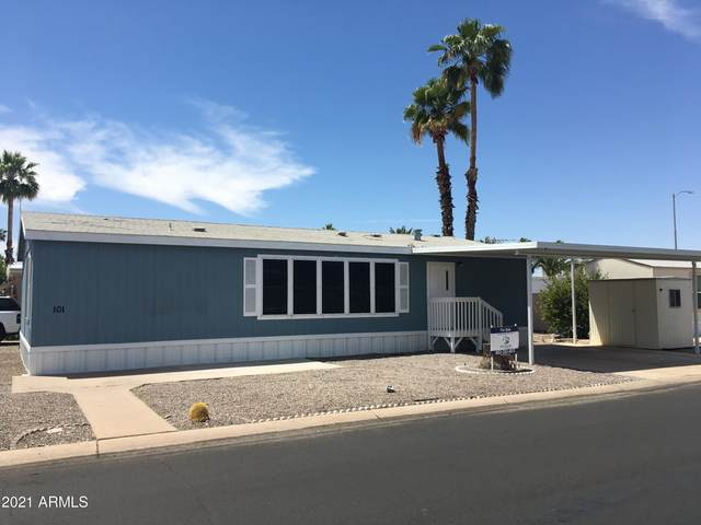 2650 W Union Hills Drive #101, Phoenix, AZ 85027 (MLS #6232942) :: Maison DeBlanc Real Estate