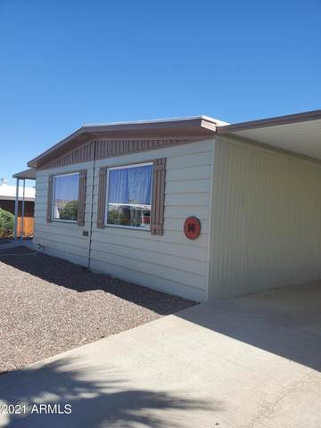 2501 W Wickenburg Way  #14, Wickenburg, AZ 85390 (MLS #6233521) :: Yost Realty Group at RE/MAX Casa Grande