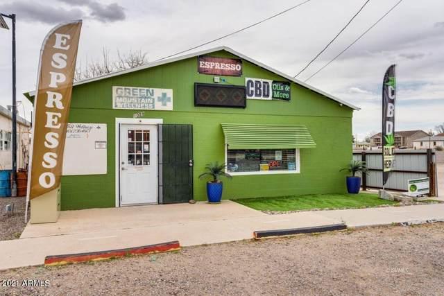 1059 N College Avenue, Thatcher, AZ 85552 (MLS #6233984) :: The Garcia Group