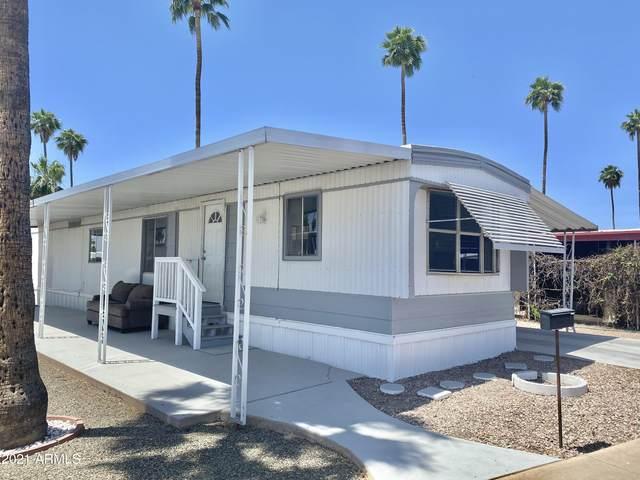 2600 E Allred Avenue A103, Mesa, AZ 85204 (MLS #6234064) :: The Laughton Team