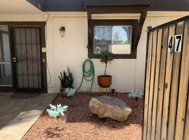 720 S Dobson Road #47, Mesa, AZ 85202 (MLS #6234379) :: Keller Williams Realty Phoenix