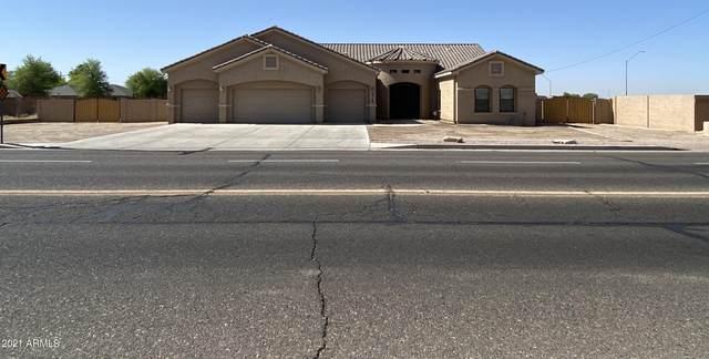 915 W Vah Ki Inn Road, Coolidge, AZ 85128 (MLS #6235368) :: Yost Realty Group at RE/MAX Casa Grande