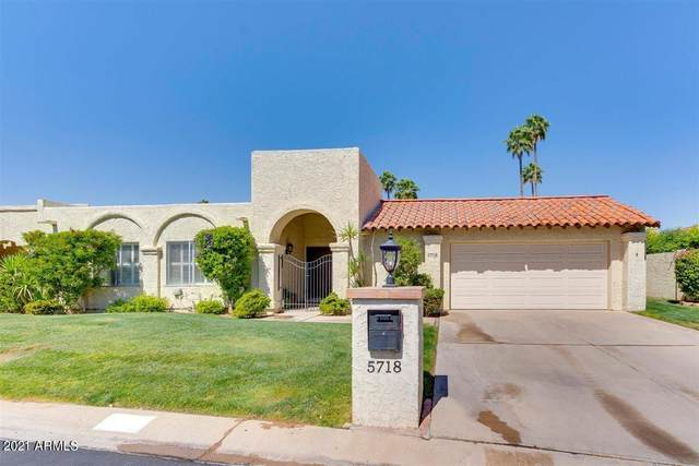 5718 N 72ND Place, Scottsdale, AZ 85250 (MLS #6235605) :: Nate Martinez Team