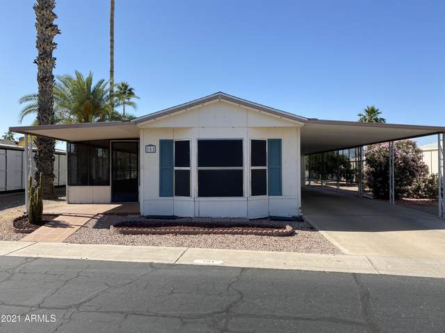 8103 E Southern Avenue #161, Mesa, AZ 85209 (MLS #6235677) :: CANAM Realty Group