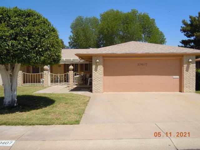 10407 W Roundelay Circle, Sun City, AZ 85351 (MLS #6236400) :: Yost Realty Group at RE/MAX Casa Grande