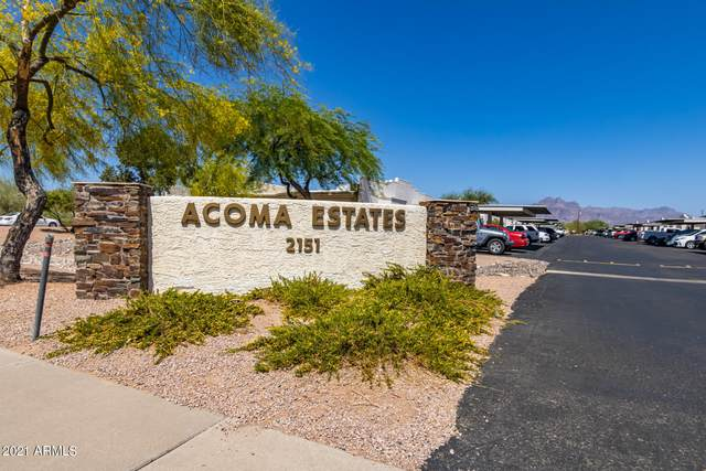 2151 N Meridian Road #38, Apache Junction, AZ 85120 (MLS #6236634) :: Arizona Home Group