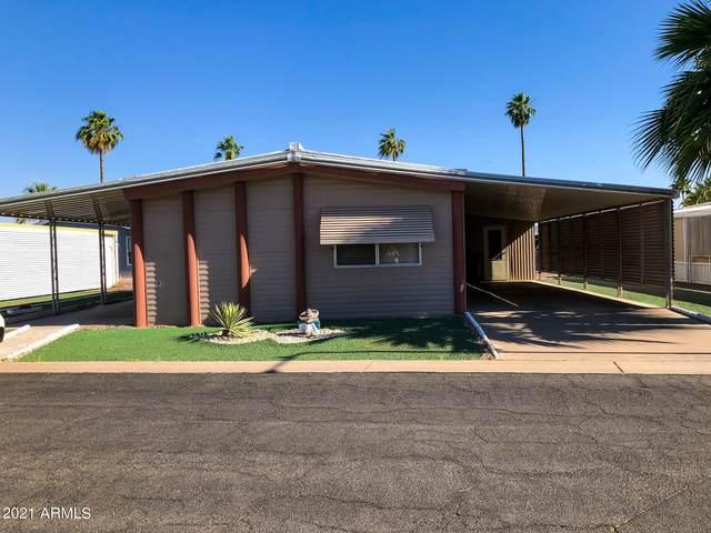 120 N Val Vista Drive #95, Mesa, AZ 85213 (MLS #6236816) :: The Laughton Team