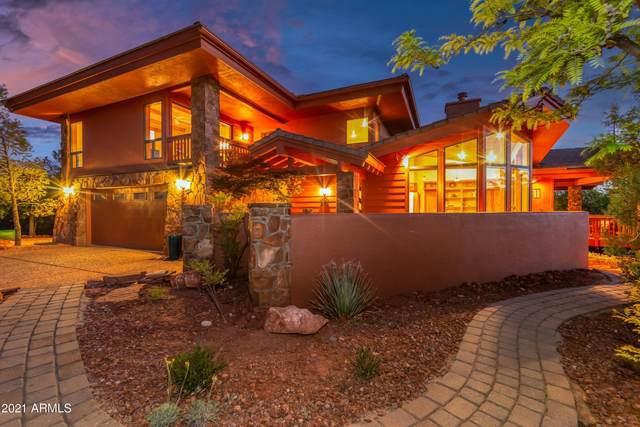 27 Feather Way, Sedona, AZ 86336 (MLS #6236913) :: TIBBS Realty