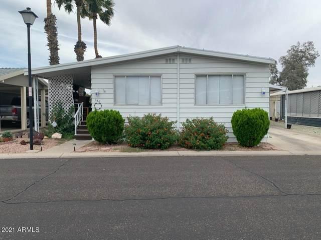 10960 N 67TH Avenue N #146, Glendale, AZ 85304 (MLS #6239091) :: The Garcia Group