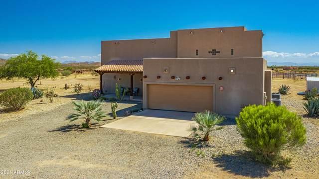 52623 N 463rd Avenue, Wickenburg, AZ 85390 (MLS #6239755) :: Yost Realty Group at RE/MAX Casa Grande